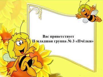 3 группа Пчёлки